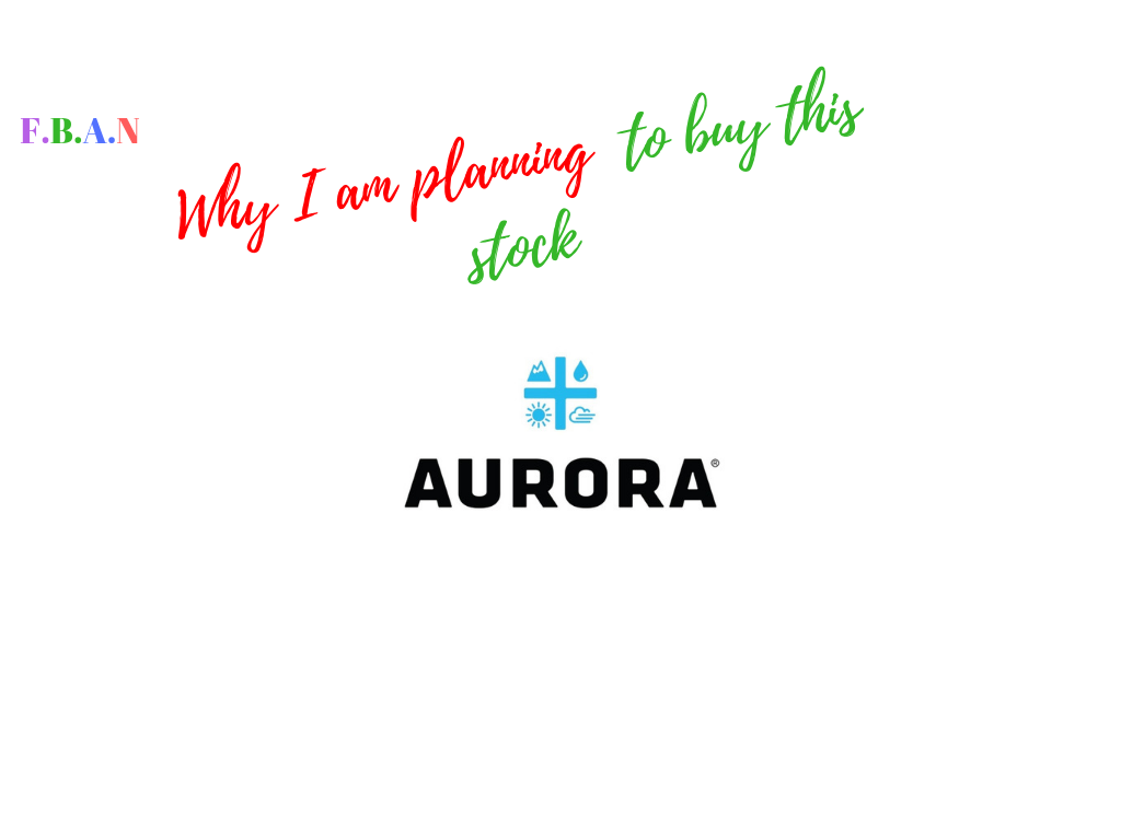 aurora cannabis/ marijuana stocks